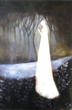 """Jeanie Tomanek. Chapel. 36x24"""" Oil"""