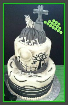 Frankenweenie cakes--amazing!