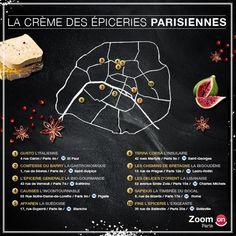 ZoomOn vous propose un petit tour parisien 100% culinaire. Notre sélection est gourmande, bio voire cosmopolite... avec des prix vraiment abordables. Attention, ces adresses risquent de vous rendre addict. Salivez ici : http://blog.zoomon.fr/selection-epicerie-paris/