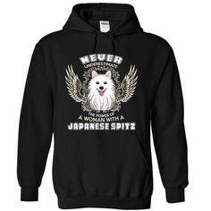 Japanese Spitz Dog Woman T Shirts, Hoodies Sweatshirts. Check price ==► http://store.customtshirts.xyz/go.php?u=https://www.sunfrog.com/Pets/Japanese-Spitz-Dog-Woman-3577-Black-8062063-Hoodie.html?41382
