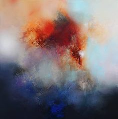 """""""First Light,"""" original abstract painting by artist Eelco Maan (Netherlands) available at Saatchi Art #SaatchiArt"""