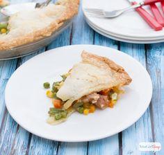 Leftover Ham Pot Pie #TriplePFeature