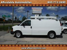 Used 2010 Chevrolet Express 1500 Cargo for Sale in Myrtle Beach SC 29577…