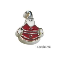 LOT 10pcs Snowman Floating charms For Glass living memory Locket FC1096
