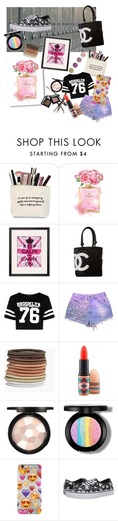 """""""Basic Locker"""" by racheld725 ❤ liked on Polyvore featuring interior, interiors, interior design, home, home decor, interior decorating, Chanel, Boohoo, MAC Cosmetics and Vans"""
