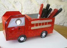 camion de pompier fete des papa (Page 1) / Bricolage / activités manuelles / Assistante maternelle - assistante-maternelle.biz le site des assistantes maternelles agrées et parents employeurs