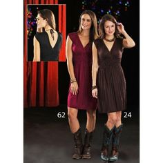 Cornell's Country Store Panhandle Slim Knit Cap Sleeve Dress