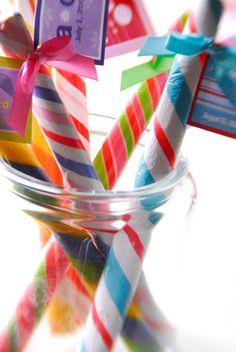 Lollipop stick