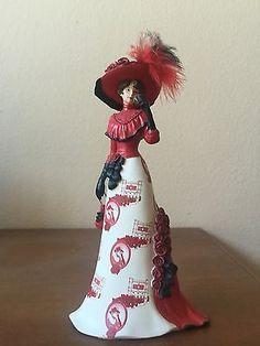 "Coca Cola Lady Figurine ""Pure Radiance"