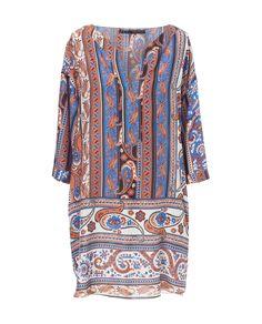 PRINTED V - NECK TUNIC - Dresses - Woman   ZARA Turkey