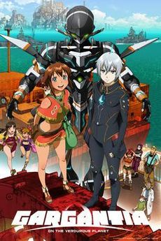Gargantia on the Verdurous Planet this is the current anime that i just finished watching and i have to say it was really good you should watch it