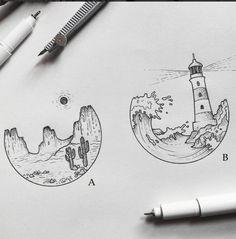Stay Wild, Moon Child. — classylittletattoos: sketches by alucinori - which...