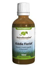Kiddie Florish to Promote Healthy Appetites in Children (50ml) by Native Remedies. $33.26. Product DescriptionKiddie Florish is a 100% safe, non-addictive natural herbal remedy formulated by a Clinical Psychologist for fussy and picky eaters. Kiddie Florish contains a selection of herbs known for their tonic function in supporting digestive calm and well-being. Kiddie Florish can be effectively used to safely promote a healthy appetite, routine nutrient absorption a...