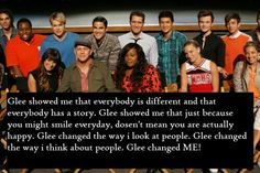 Thank you Glee ❤