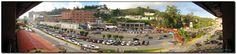 MIRANDA. Municipio Los Salias. San Antonio de los Altos, foto tomada desde la carretera Panamericana.