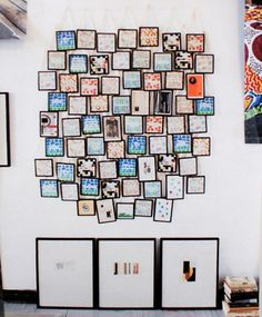 A wall of frames...hmmm...I can go there.