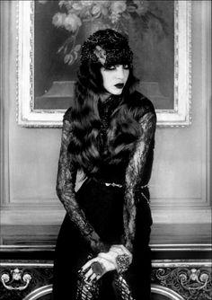 """Irina IONESCO - Photographie de mode """" Chanel """" pour le magazine Stiletto ( Paris, France )"""