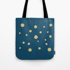 Hand Drawn Circles on Dark Blue Tote Bag by diana_ioana Paper Bags, Beach Look, Blue Bags, Poplin Fabric, Beach Towel, Diana, Dark Blue, How To Draw Hands, Stress