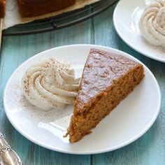 Pumpkin Snack Cake Recipe Desserts with pumpkin, applesauce, vegetable oil, large eggs, vanilla extract, granulated sugar, light brown sugar, baking powder, baking soda, salt, cinnamon, nutmeg, allspice, clove, all-purpose flour, heavy cream, powdered sugar, vanilla extract