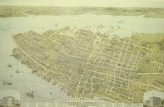 Antique Reproduction of Charleston in 1872 Map $17.95