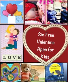 Six Free Valentine Apps for Kids - Fun and Educational   #free #edapps #Valentine #kids #apps