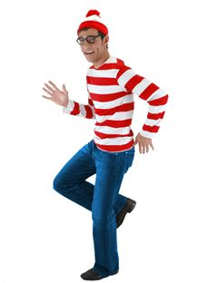 Cheap and easy halloween costumes for men custume ideas wheres waldo mens costume solutioingenieria Choice Image