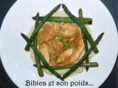 Poulet aux oignons et sauce à la courgette