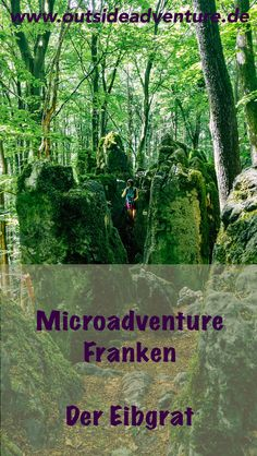 Microadventure Franken: Der Eibgrat - mehr als Wandern - Outside Adventure Scuba Diving Lessons, Europe Bucket List, Bushcraft Camping, Buy Tickets, Germany Travel, Travel Around The World, Places To See, The Outsiders, Travel Photography