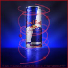 Red Bull fusion energy studio shot