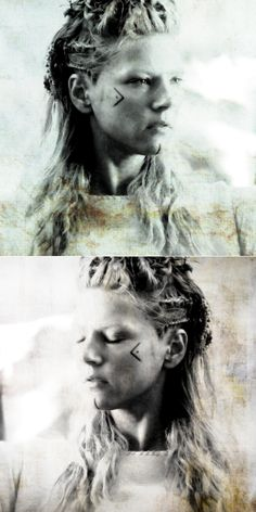 Lagertha: i would rather be her. she is formidable. #vikings