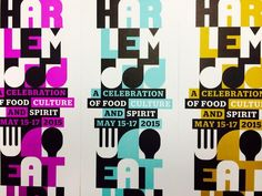 Harlem Eat design by OCD