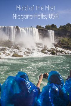 Maid of the Mist is open for the 2016 season! Get up close and personal on this once in a lifetime experience in Niagara Falls USA. A major bucket list item for all ages!