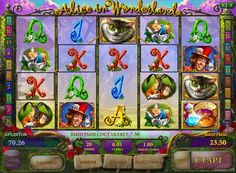 Alice in Wonderland online slot. Slot Machine Alice in Wonderland different quality graphics and nice sound. You can have a good time in the free version of the online the slot Alice in Wonderland, surrounded by the Cheshire Cat and the Mad Hatter. But it is also possible to successfully play for real money, since this unit