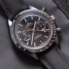 The Handsome Omega Speedmaster Dark Side of the Moon.