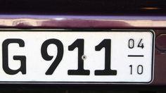 Verbotene Nummernschilder: Nicht jeder Wunsch wird auch ein Kennzeichen