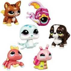 Littlest Pet Shop Walking Pets Wave 1 by Hasbro. $56.94. Each individually packaged 2-inch tall figure has a lot of personality and the need for speed-- or at least for a little bit of a jog.. Now your Littest Pet Shop friends can walk!. Case includes 6 individually packaged pets, including: 1x Dog 1x Seal 1x Cat 1x Fish 1x Spider 1x Snail (subject to change). Special new figures can really move!. It's time for a walk with the Littlest Pet Shop Walking Pets!. ...
