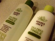 Try Trader Joe's Tea Tree Tingle for your hair! You won't regret it.