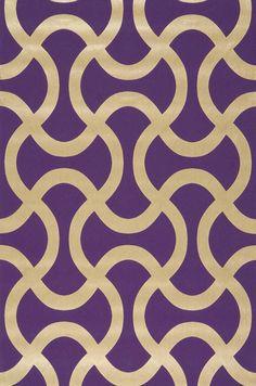 Beltone | Papel de parede geométrico | Padrões de papel de parede | Papel de parede dos anos 70