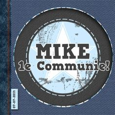 feest communie jeans stoer a - Communiekaarten - Kaartje2go