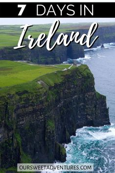 I have the ultimate 7 days in Ireland itinerary. This Ireland road. Informations About 7 Days in I Europe Destinations, Amazing Destinations, Honeymoon Destinations, Ireland Travel Guide, Europe Travel Guide, Travel Guides, European Vacation, European Travel, Backpacking Europe