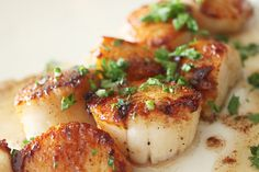 I love scallops. Over my entire lifetime, I've have food faves rotate in and out in phases. I was obsessed with scallops, couldn't ...