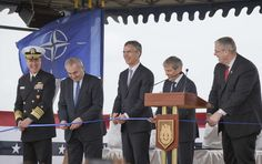 "05-17-2016 (Photo: #NATO Secretary General Jens #Stoltenberg, center, #Romanian Premier Dacian Ciolos, center right, US Deputy Secretary of Defense Robert O. Work…) http://JohnBatchelorShow.com/contact http://JohnBatchelorShow.com/schedules http://johnbatchelorshow.com/blog Twitter: @BatchelorShow NATO Escalates & Russia Fulminates. Stephen F. Cohen, NYU, Princeton University. EastWestAccord.com. ""President Vladimir V. Putin of Russia has warned that an American antimissile deployment in…"
