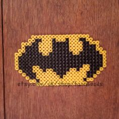 Batman Logo Hama Bead