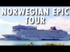 ▶ Norwegian Epic Tour ~ Norwegian Cruise Line ~ Cruise Ship Tour – PopularCruising.com