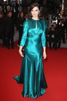 2015 Cannes Film Festival - Youth Premiere - May 20, 2015 - Rachel Weisz wore a Prada gown with Chaumet jewels.
