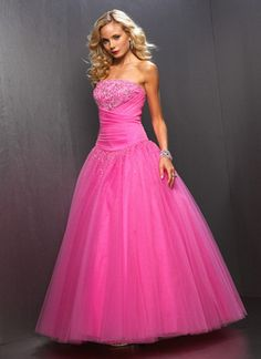 1000  images about Pink Fashion on Pinterest | Pink Prom Dresses ...