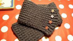 Cuello bufanda basica tejida en telar por Brunella