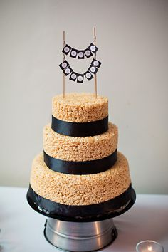 Amazing Wedding Cake Prices Tall Wedding Cakes With Cupcakes Clean Wedding Cake Frosting Wood Wedding Cake Young A Wedding Cake BrightSafeway Wedding Cakes Wedding Cake Of The Week: DIY Rice Krispies Cake | Rice Krispies ..