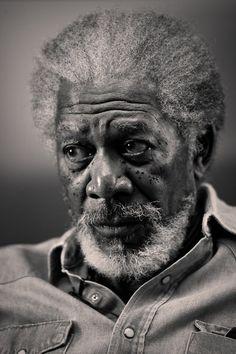Morgan freeman © Annie Leibovitz                                                                                                                                                                                 Plus