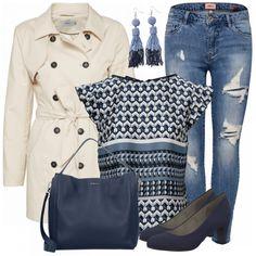 Freizeit Outfits: Muster bei FrauenOutfits.de #fashion #fashionista #inspiration #mode #kleidung #bekleidung #damen #frauen #damenkleidung #frühling #frühjahr #frauenoutfits #damenoutfits #outfit